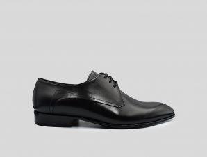 Ανδρικό Μαύρο Black Oxford Shoes PHILIPPE LANG