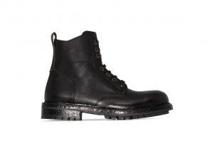 Ανδρικό Μαύρο Hobnail Ankle Boots DOLCE & GABBANA