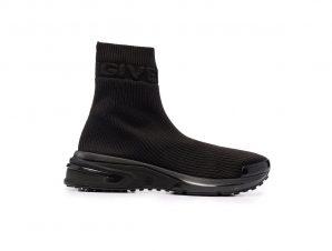 Ανδρικό Μαύρο Sock-Style Logo Sneakers GIVENCHY